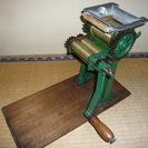 製麺機(パスタマシーン)