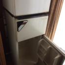 冷凍庫付き冷蔵庫(2ドア)