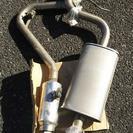 ムーブL602s(L600s系) 社外マフラー 中古品 2分割式