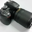 【一眼レフカメラ】ニコンD5300とレンズ(18-140mm)セット