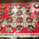 非売品!限定品!広島カープ 優勝記念 缶バッチ