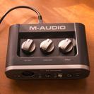 M-AUDIO USBオーディオインターフェース Fast Tra...