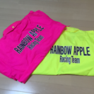 Racing Team RAINBOW APPLEのペアジャンパー