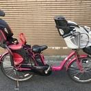 【中古】電動アシスト自転車 パナソニック ギュット ピンク 2012年式