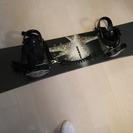K2 スノーボード 男性用 (153cm) ビンディング・流れ止...