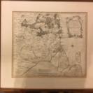 デンマークの古地図?