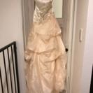 ウエディングドレス11号カラードレス