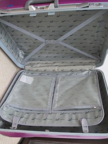 052a12370f B-109) スーツケースANDAMAN 大型パープル (ESPOIR-大東 ) 住道のバッグ ...
