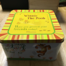 三郷陶器株式会社製お皿5枚プーさんセット(未使用品)箱付き…
