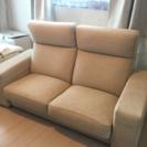 値下げしました♡アクタスのリクライニングソファ。モデラート美品