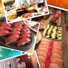締切間近!高級寿司パーティ🍣