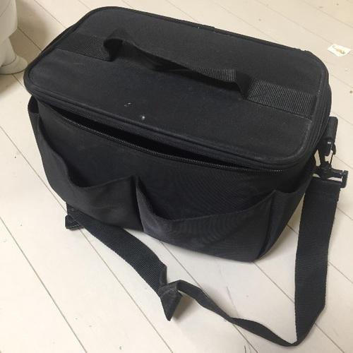 【中古】無印良品メイクボックス(ネイルバッグ)の画像