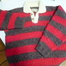 ラガー風のカナダ製のセーター