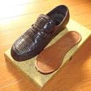 紳士用 革靴 使用少々 難あり 24.5cmEEE (1)