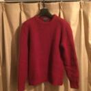 ★再値下げ★メンズセーター、赤、Mサイズ