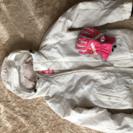 ※値下げ【女性用】スノボード ウェア + グローブ