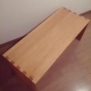 無印良品 MUJI オーク材ベンチ(テーブル使用可) - 杉並区
