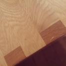 無印良品 MUJI オーク材ベンチ(テーブル使用可) - 家具