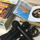 【マイク合計2本】Wii JOYSOUND SUPER DX