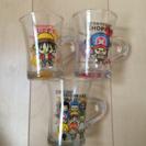 ワンピース ガラスコップ 3個組