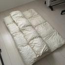 無印良品 羽毛布団 布団カバー ×3の画像