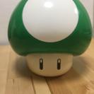 (値下げ)1UPキノコ貯金箱(緑)