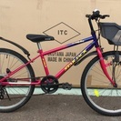 ★ブリジストン*24インチ・子供用自転車・シマノ6段ギア付