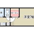 仲介手数料不要!。1K家賃4.1万円!JR山科駅徒歩5分のリノベー...