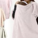 ●新品未使用 【最終値下げ】抱っこ用あったかポンチョ ピンク