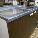 マンション、ワンルームに最適 水本木工 オリジナル流し台 90cmタイプ