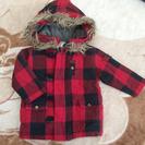 美品 防寒暖かブルゾンアウタージャケット