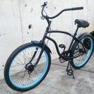新品☆ビーチクルーザーレインボーtype x - 自転車