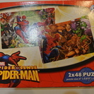 Spider-man ジグゾーパズル 48ピース2個セット スパ...