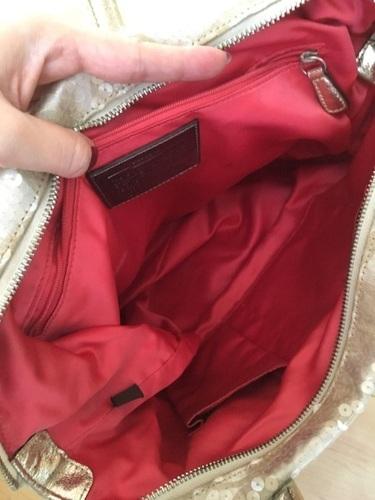 detailing df29d 788cc コーチ スパンコールトートバッグ (sachi) 所沢のバッグの中古 ...