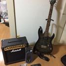 エレキギター・アンプ・チューナーセット
