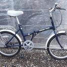 折畳み 20インチ シングルギヤ カギ新品 中古自転車 063