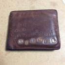 DIESEL 二つ折り財布 茶色