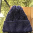 ニット帽 New Hampshire ネイビー