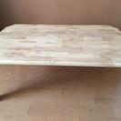 (★美品★)ウッドテーブル