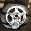 スタッドレスタイヤ+アルミホイール (175/65R14)