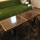 ダイニングテーブル ローテーブル アイアン ガラス 値下げしました