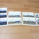 新幹線のポストカード