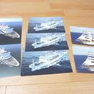 船舶のポストカード