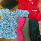 値下げ。ブランド女の子6点洋服セット。美品。90cm95cmくらい。