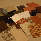 パッチワークの中綿、他端切れ布などの画像