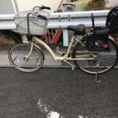 【値下げ】26インチ自転車 カゴ付き