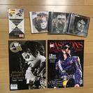激レア★海外版★マイケル ジャクソン 追悼マガジン2冊&CD3枚セット