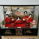 雛人形 オルゴール付き三段飾り