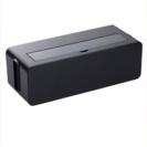 未使用☆ブラック テーブルタップボックス L