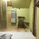 屋根裏部屋2間付き1K(3K)新設シャワールーム+ウォシュレット付...